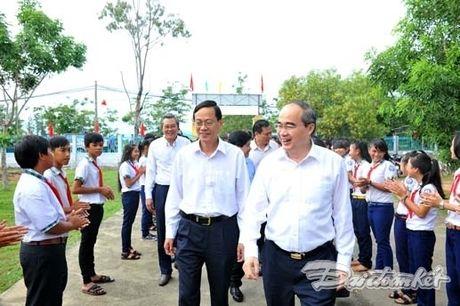 : Hoat dong cua Chu tich Nguyen Thien Nhan tai Ninh Thuan - Anh 1