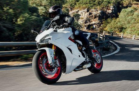 Ducati gioi thieu xe the thao moi de dieu khien - Anh 2