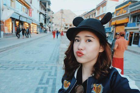 Nhan sac ban gai moi cua rapper Tien Dat - Anh 2