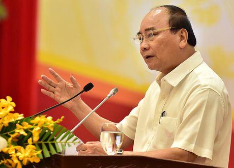 Thu tuong Nguyen Xuan Phuc: 'Noi phai, cu cai cung nghe' - Anh 1