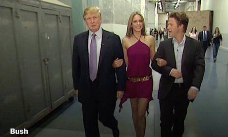 Trump hua lam nguoi tot sau video tho tuc voi phu nu - Anh 1