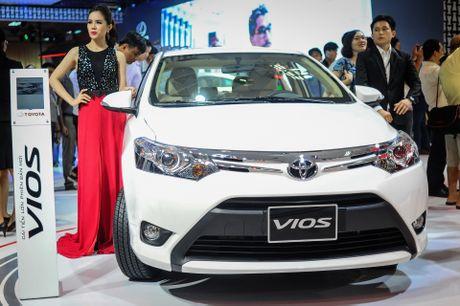 Anh Toyota Vios 2016 gia 532 trieu moi ban o Viet Nam - Anh 1