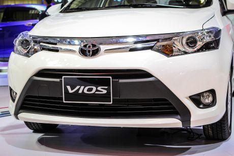 Anh Toyota Vios 2016 gia 532 trieu moi ban o Viet Nam - Anh 3