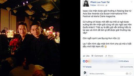Showbiz nong chuyen 'nguoi cu' cua Le Cong Tuan Anh duoc minh oan - Anh 3