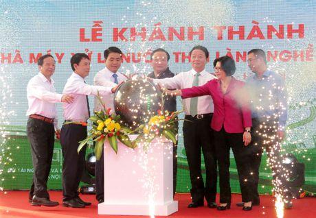Khanh thanh Nha may Xu ly nuoc thai lang nghe Cau Nga - Anh 1