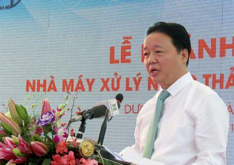 Khanh thanh Nha may Xu ly nuoc thai lang nghe Cau Nga - Anh 2
