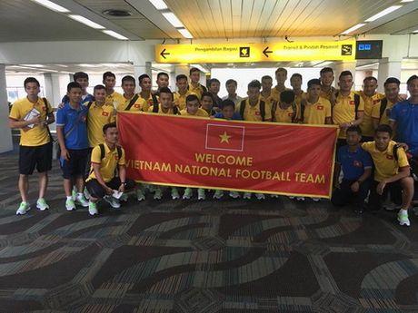 Tuyen Viet Nam tap duy nhat 1 buoi truoc cuoc doi dau Indonesia - Anh 1