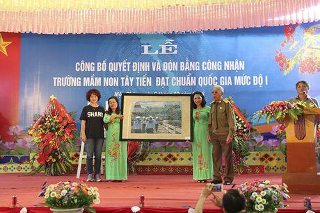 Mot buoi le dac biet o ngoi truong mam non mang ten Tay Tien - Anh 16