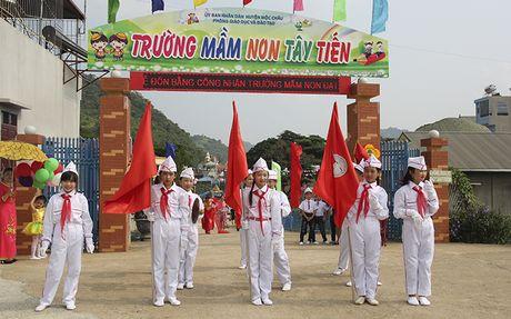 Mot buoi le dac biet o ngoi truong mam non mang ten Tay Tien - Anh 1