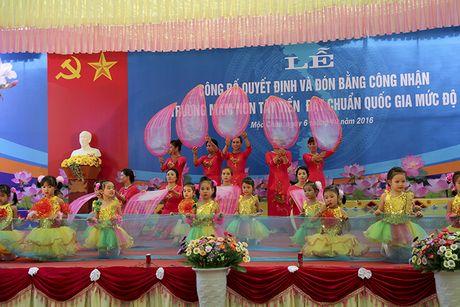 Mot buoi le dac biet o ngoi truong mam non mang ten Tay Tien - Anh 7
