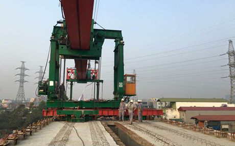 Hop long toan tuyen duong sat tren cao Cat Linh - Ha Dong - Anh 1