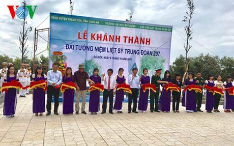Khanh thanh Dai tuong niem Liet si Trung doan 207 - Anh 1