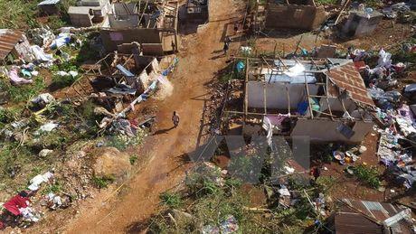 Haiti doi mat nguy co bung phat dich benh sau con bao Matthew - Anh 1