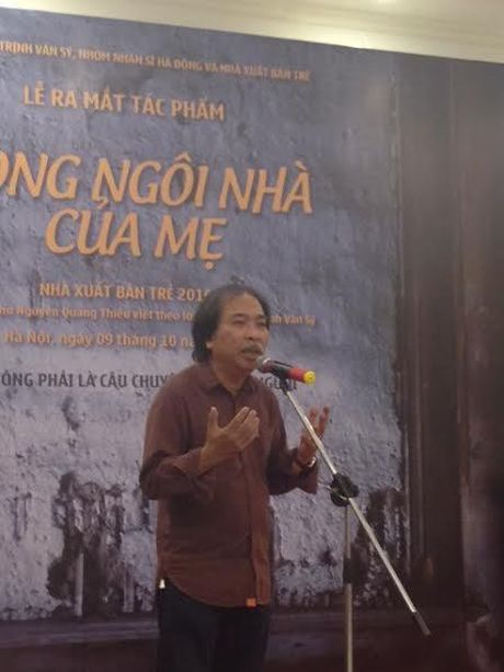 "Nha tho Nguyen Quang Thieu ra mat ""Trong ngoi nha cua me"" - Anh 3"
