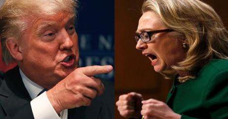 Trump to Hillary sau clip soc: Trau lam vay bun? - Anh 1