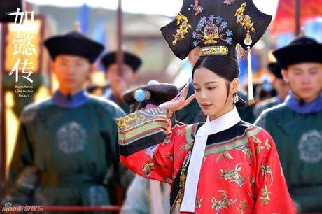 Lo dien dan phi tu xinh nhu tien nu trong phim vua Can Long - Anh 10