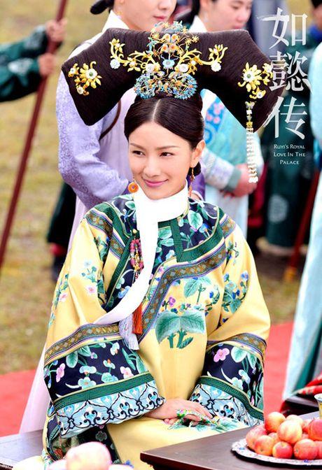 Lo dien dan phi tu xinh nhu tien nu trong phim vua Can Long - Anh 11
