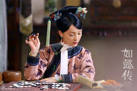 Lo dien dan phi tu xinh nhu tien nu trong phim vua Can Long - Anh 2