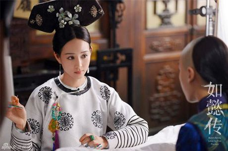 Lo dien dan phi tu xinh nhu tien nu trong phim vua Can Long - Anh 4
