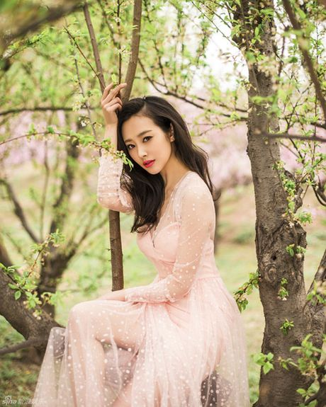 Lo dien dan phi tu xinh nhu tien nu trong phim vua Can Long - Anh 7
