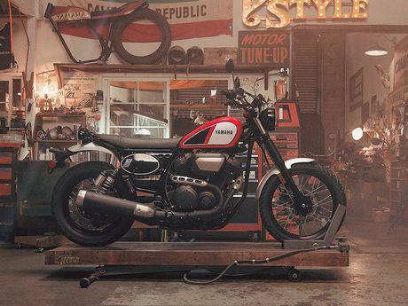 Yamaha 'nha hang' moto scrambler hoai co SCR950 - Anh 2