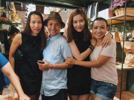 Nhan sac 'an dut' Hari Won cua 'ban gai moi'Tien Dat - Anh 2