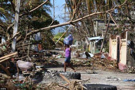 Canh hoang tan va chet choc o Haiti sau con bao lich su Matthew - Anh 14