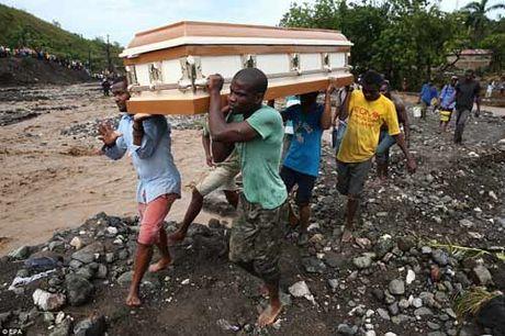 Canh hoang tan va chet choc o Haiti sau con bao lich su Matthew - Anh 16