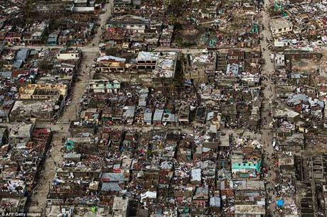 Canh hoang tan va chet choc o Haiti sau con bao lich su Matthew - Anh 1