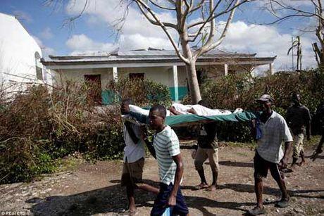 Canh hoang tan va chet choc o Haiti sau con bao lich su Matthew - Anh 6