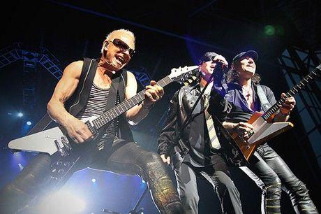 Phim tai lieu ve nhom nhac Rock Scorpions duoc cong chieu tai Viet Nam - Anh 2