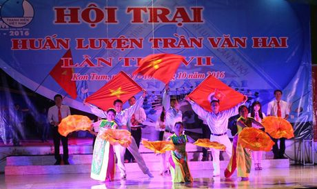 120 hoi vien tham gia trai huan luyen Tran Van Hai - Anh 1