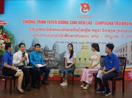 Tuyen duong 112 sinh vien Lao - Campuchia tieu bieu nam 2016 - Anh 1
