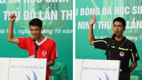 Tung bung khai mac giai bong da hoc sinh THPT Ha Noi - Bao ANTD 2016 - Anh 4