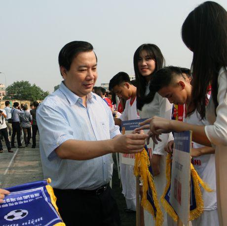 Tung bung khai mac giai bong da hoc sinh THPT Ha Noi - Bao ANTD 2016 - Anh 7