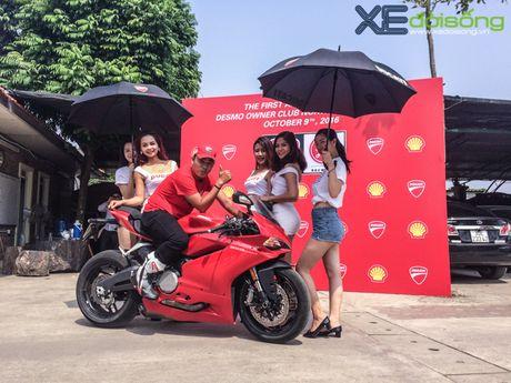 Dan xe Ducati do ruc duong pho Ha Noi mung sinh nhat D.O.C - Anh 5