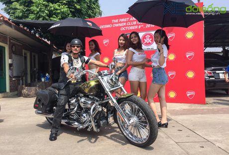 Dan xe Ducati do ruc duong pho Ha Noi mung sinh nhat D.O.C - Anh 8