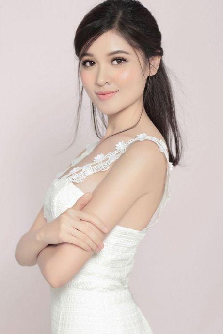 A hau Thuy Dung tung anh moi dep hon ca Hoa hau My Linh - Anh 3