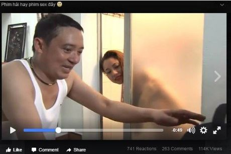 Tin nong showbiz: Chien Thang bi cao buoc 'dong hai nhu phim sex' - Anh 1