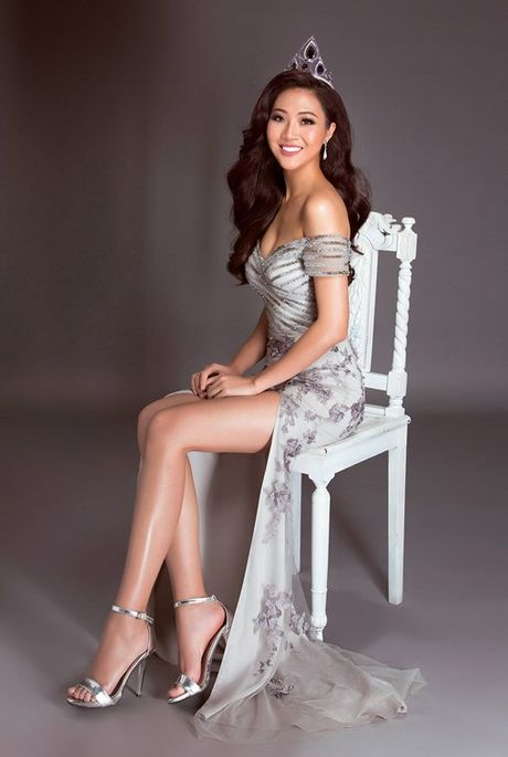 Dieu Ngoc: Neu lot vao vong ung xu Miss World, toi se noi tieng Anh - Anh 3
