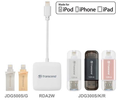 Transcend gioi thieu dong san pham Lightning cho thiet bi cua Apple - Anh 1