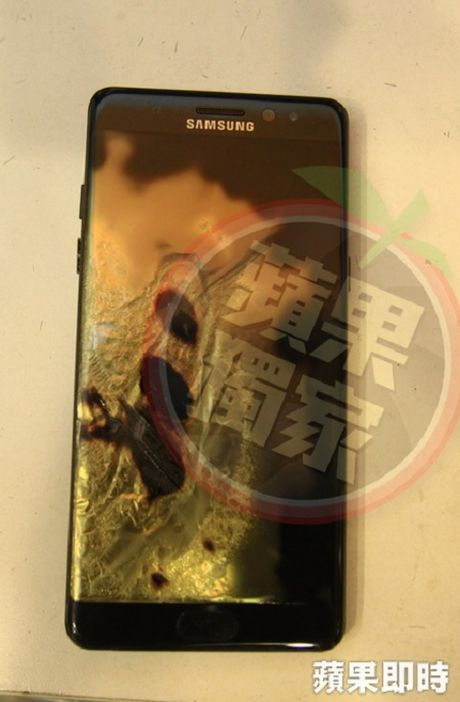 Galaxy Note 7 moi lai phat no o Dai Loan - Anh 2