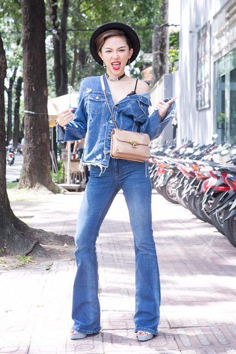 Toc Tien, Lan Ngoc mac doi thuong sexy nhat tuan - Anh 1