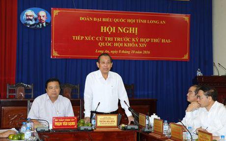 Pho Thu tuong: Phai danh cho trung dau so - Anh 1