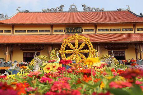 Van nguoi tray hoi hoa cuc chua Ba Vang - Anh 2