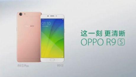Lo dien ngoai hinh cua Oppo R9S va R9S Plus - Anh 1