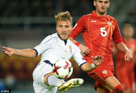 Macedonia 2-3 Italia: Cu dup than thanh cua Ciro Immobile - Anh 5