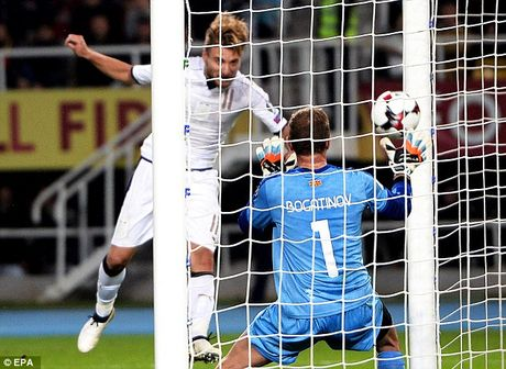 Macedonia 2-3 Italia: Cu dup than thanh cua Ciro Immobile - Anh 6