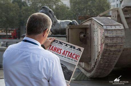 Chiem nguong 'sieu tang' Mark IV tren duong pho London - Anh 4