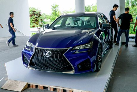 Xe sang tien ty Lexus GS F 2016 chinh hang ve VN - Anh 2